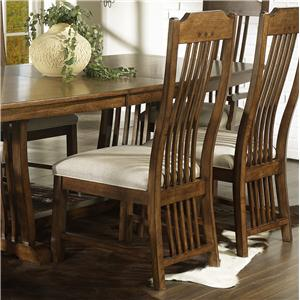 Morris Home Furnishings Craftsman Dining Side Chair