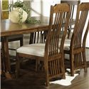 Morris Home Furnishings Craftsman Dining Side Chair - Item Number: 417-31