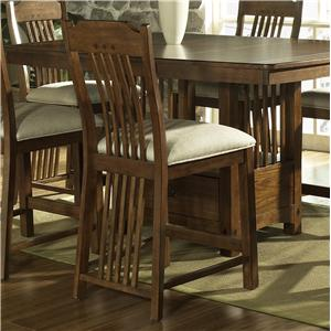 Morris Home Furnishings Craftsman Bar Stool