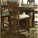Morris Home Furnishings Craftsman Mission Styled Bar Chair