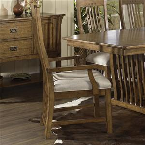 Morris Home Furnishings Craftsman Dining Arm Chair