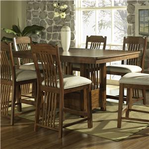 Morris Home Furnishings Craftsman Bar Table