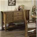Morris Home Furnishings Craftsman Dining Server - Item Number: 417-73