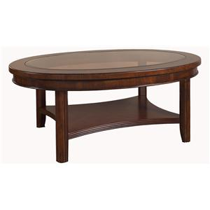 Morris Home Furnishings Rhythm  Cocktail Table