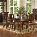 Morris Home Furnishings Rhythm  7 Piece Table & Chair Set - Item Number: 139-64+2X46+4X36