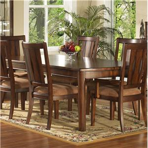 Morris Home Furnishings Rhythm  Leg Dining Table
