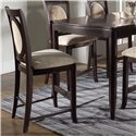 Morris Home Furnishings Signature Upholstered Bar Chair