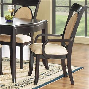 Morris Home Furnishings Signature Upholstered Arm Chair