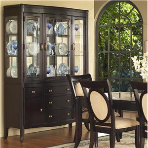 Morris Home Furnishings Signature Buffet & Hutch