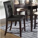 Morris Home Furnishings Signature Bicast Leather Bar Stool - Item Number: 138A38