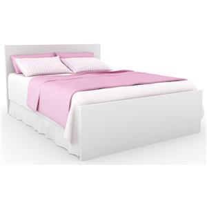 Sonax Bedroom Full/Queen Brook Headboard and Footboard Bed