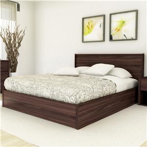 Sonax Bedroom  Queen Shore Platform Bed w/ Headboard