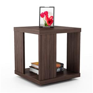 Living Room ET-3198 Woodland End Table with Open  Bottom Storage by Sonax