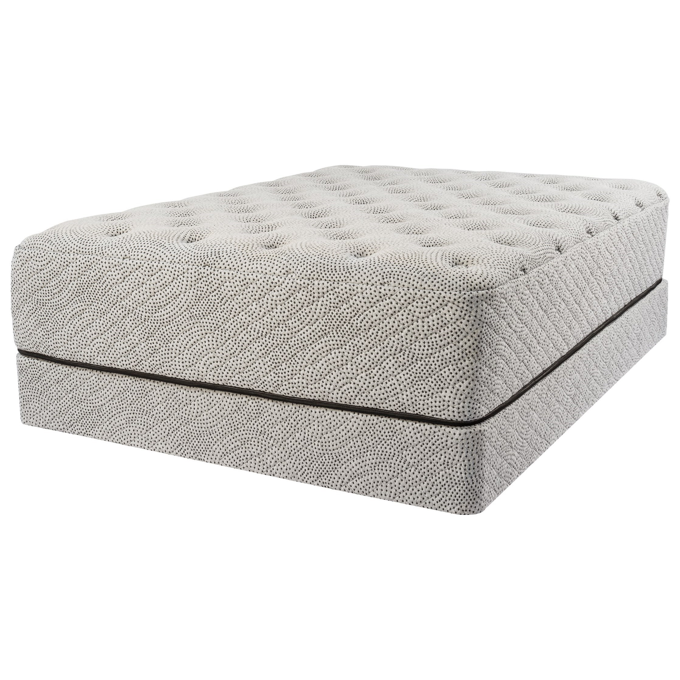 "Milano Cushion Firm Queen 14"" Cushion Firm Mattress Set by Sonnett Sleep at Rotmans"
