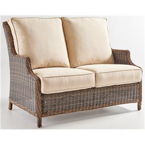 South Sea Rattan & Wicker Barrington 7770 Outdoor Loveseat