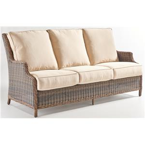 South Sea Rattan U0026 Wicker Barrington 7770 Outdoor Sofa