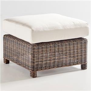 South Sea Rattan & Wicker Barrington 7770 Outdoor Ottoman