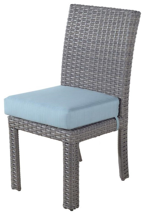 Dover Dining St Tropez Side Chair by South Sea Rattan & Wicker at Johnny Janosik