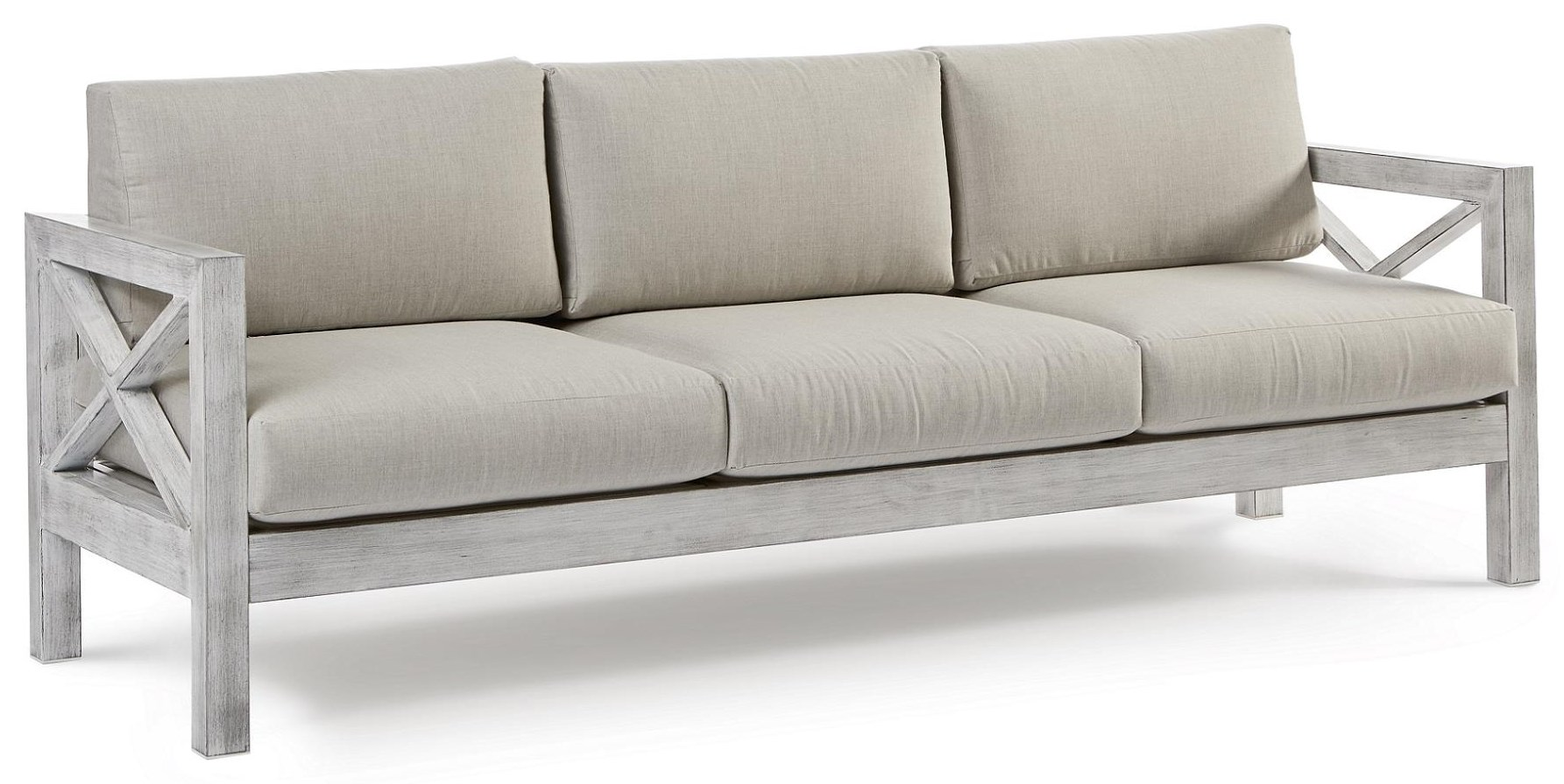 Sofa with Luxterior Cushions