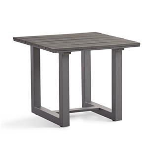 Square Base End Table