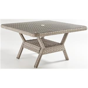 South Sea Rattan & Wicker Mayfair Dining Chat Table