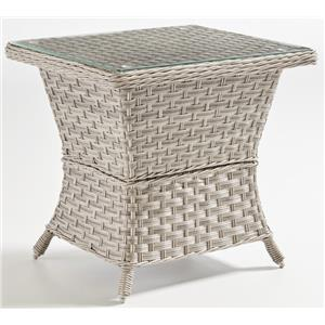 South Sea Rattan & Wicker Mayfair Outdoor End Table