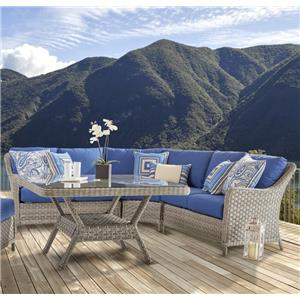 South Sea Rattan & Wicker Mayfair Outdoor Sectional