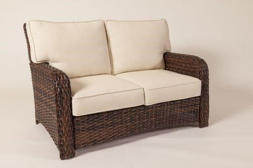 South Sea Rattan & Wicker Saint Tropez Loveseat - Item Number: 79302