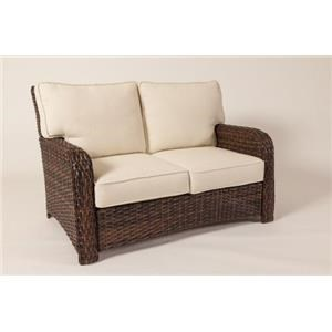South Sea Rattan & Wicker Saint Tropez Loveseat
