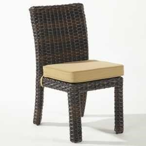 South Sea Rattan & Wicker Saint Tropez Dining Side Chair - Item Number: 79320
