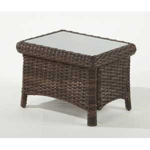South Sea Rattan & Wicker Saint Tropez End Table