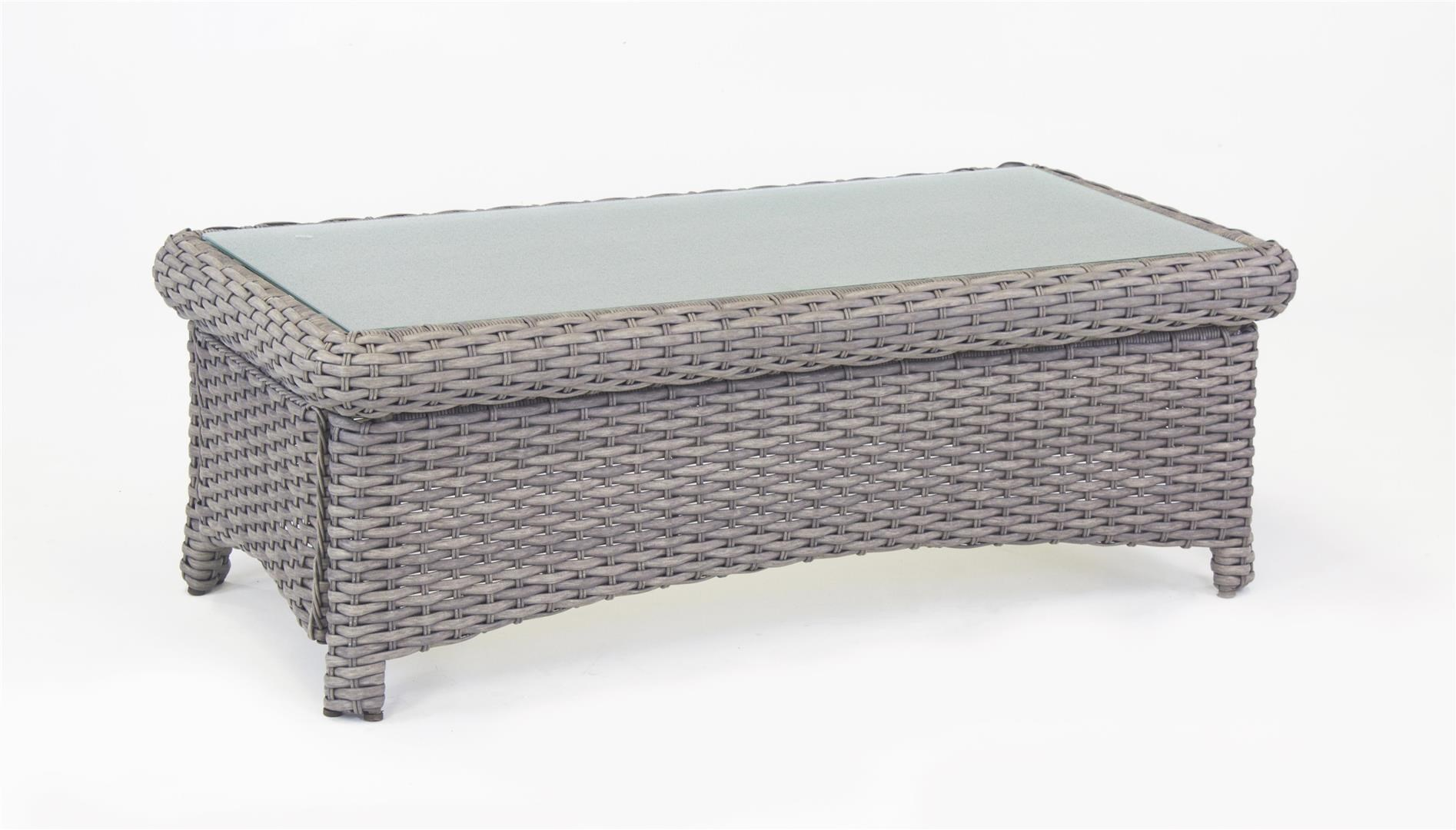 South Sea Rattan & Wicker Saint Tropez 2016 St Tropez Coffee Table - Item Number: PDQ-79344-STN