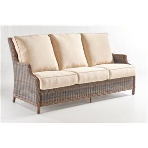 South Sea Rattan & Wicker Barrington Sofa