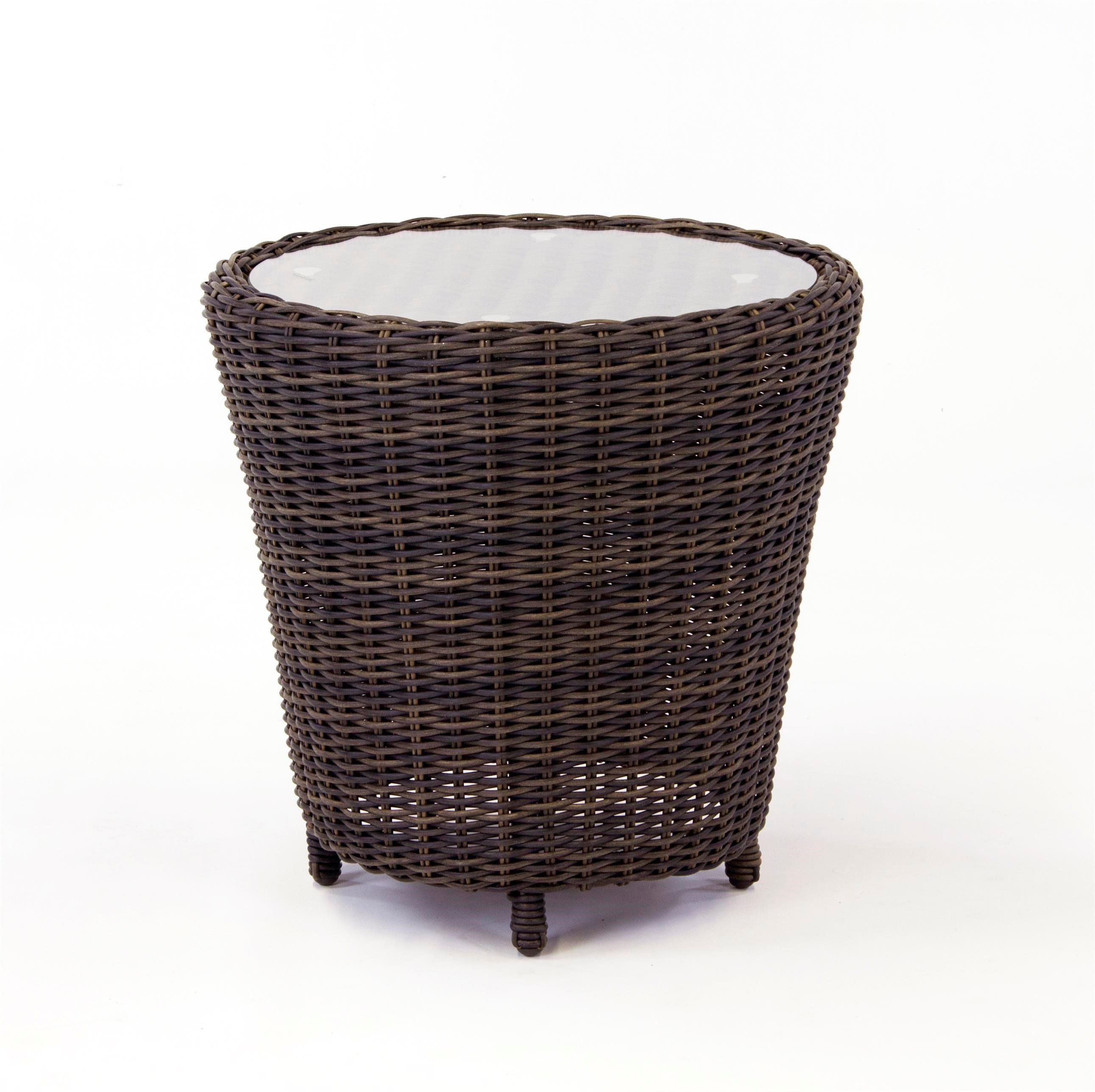South Sea Rattan & Wicker Barrington End Table - Item Number: 77743