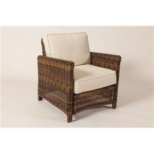 South Sea Rattan & Wicker Del Ray Chair