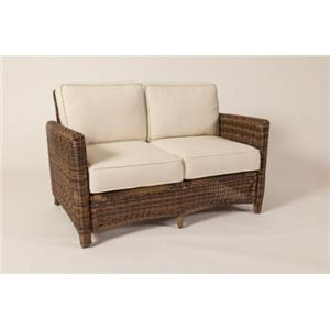 South Sea Rattan & Wicker Del Ray Loveseat
