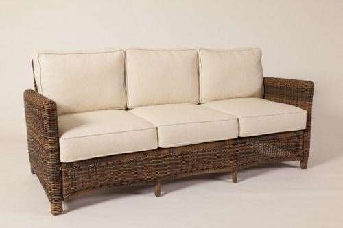 South Sea Rattan & Wicker Del Ray Sofa - Item Number: 76603