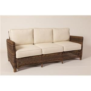 South Sea Rattan U0026 Wicker Del Ray Sofa
