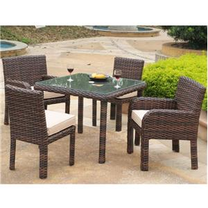 Outdoor dining sets zanesville heath cambridge for Furniture zanesville ohio