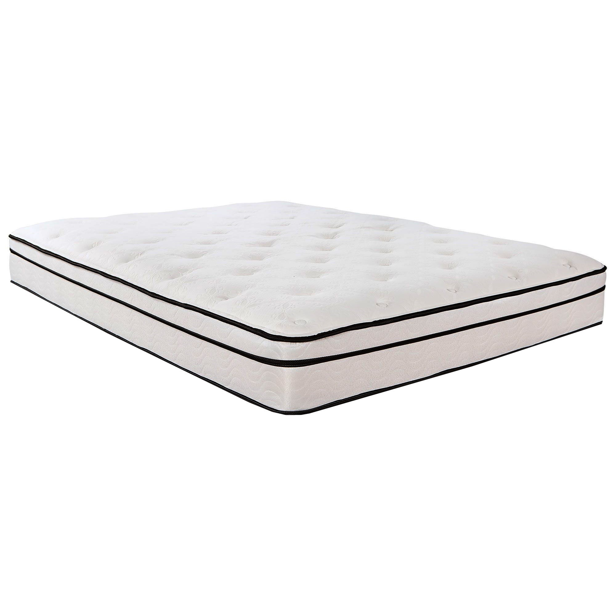 "6500 Euro Top Full 12 1/4"" Innerspring Mattress by Southerland Bedding Co. at Wilcox Furniture"