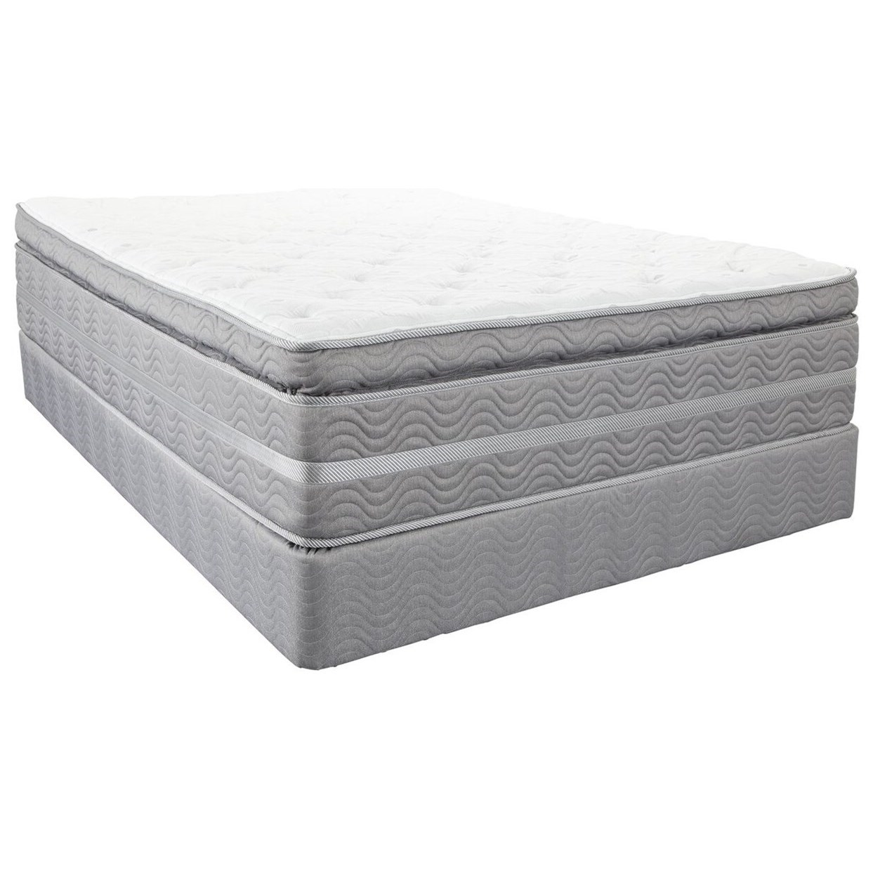 Twin Super Pillow Top Mattress Set
