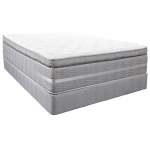 Southerland Bedding Co. Robertson Super Pillow Top Queen Super Pillow Top Hybrid Mattress Set