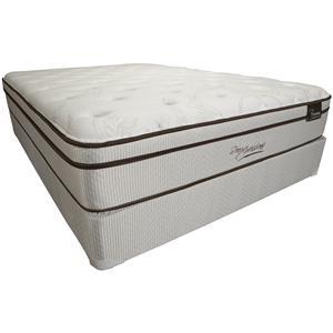 Southerland Bedding Co. Sleep XPressions Browning King Euro Top Mattress Set