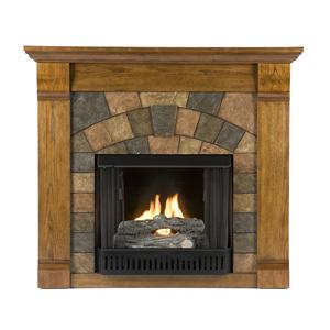 Southern Enterprises Fireplaces  Elkmont Gel Fuel Fireplace