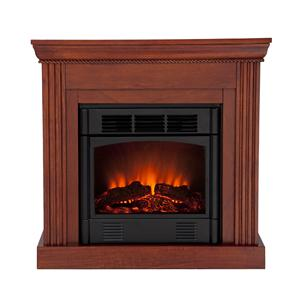 Southern Enterprises Fireplaces  Wexford Petite Convertible Electric Fireplace