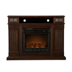 Southern Enterprises Fireplaces  Cameron Glen Media Electric Firplace