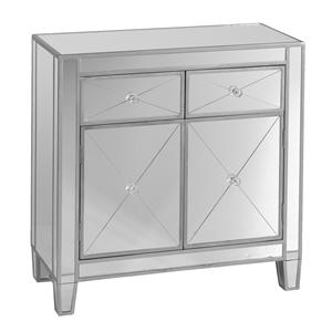 Southern Enterprises Mirage Mirage Mirrored Cabinet