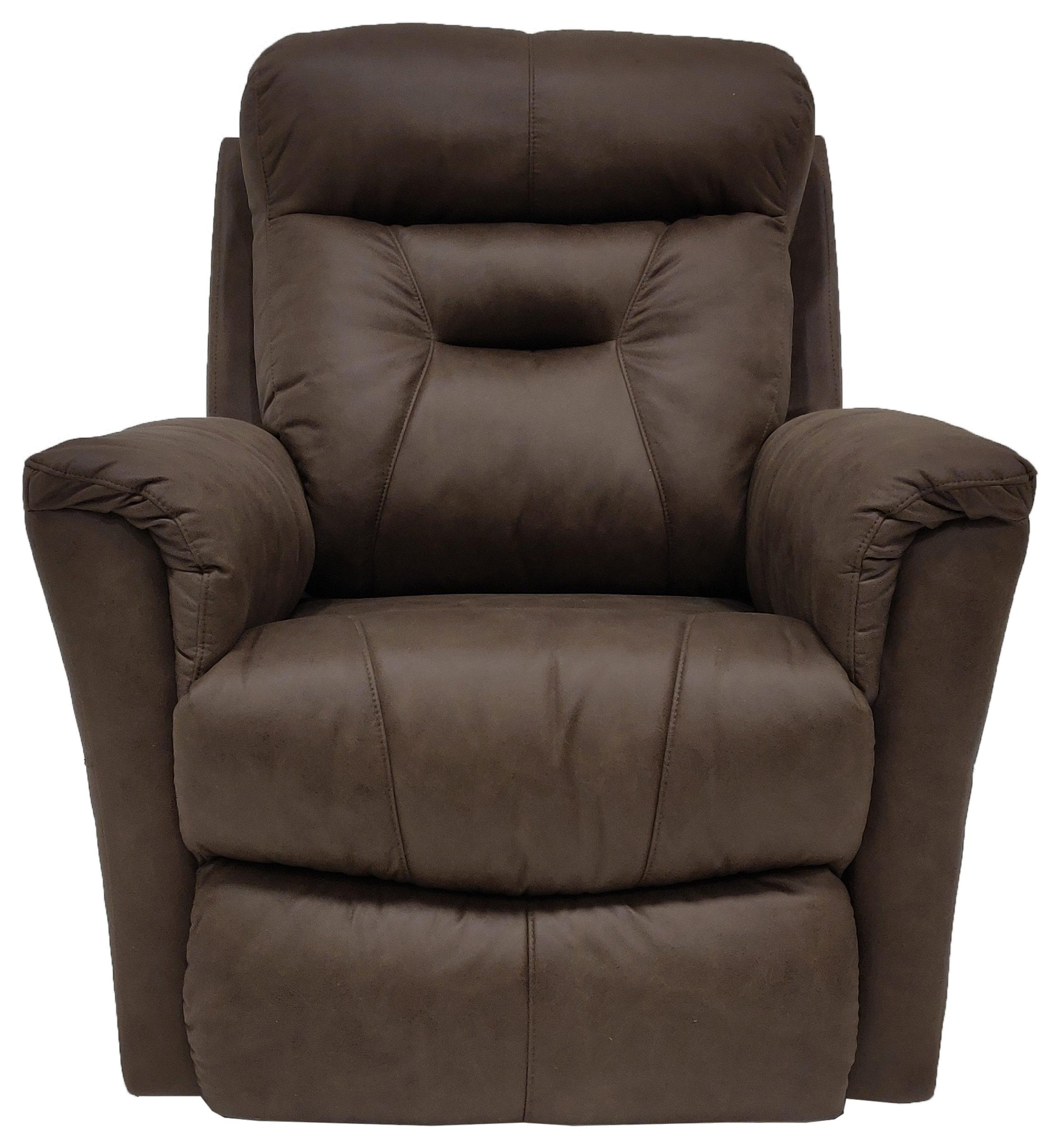 Taupe Power Rocker Recliner