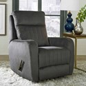 Design to Recline Racetrack Wall Hugger Power Recliner - Item Number: 2166P-137-14