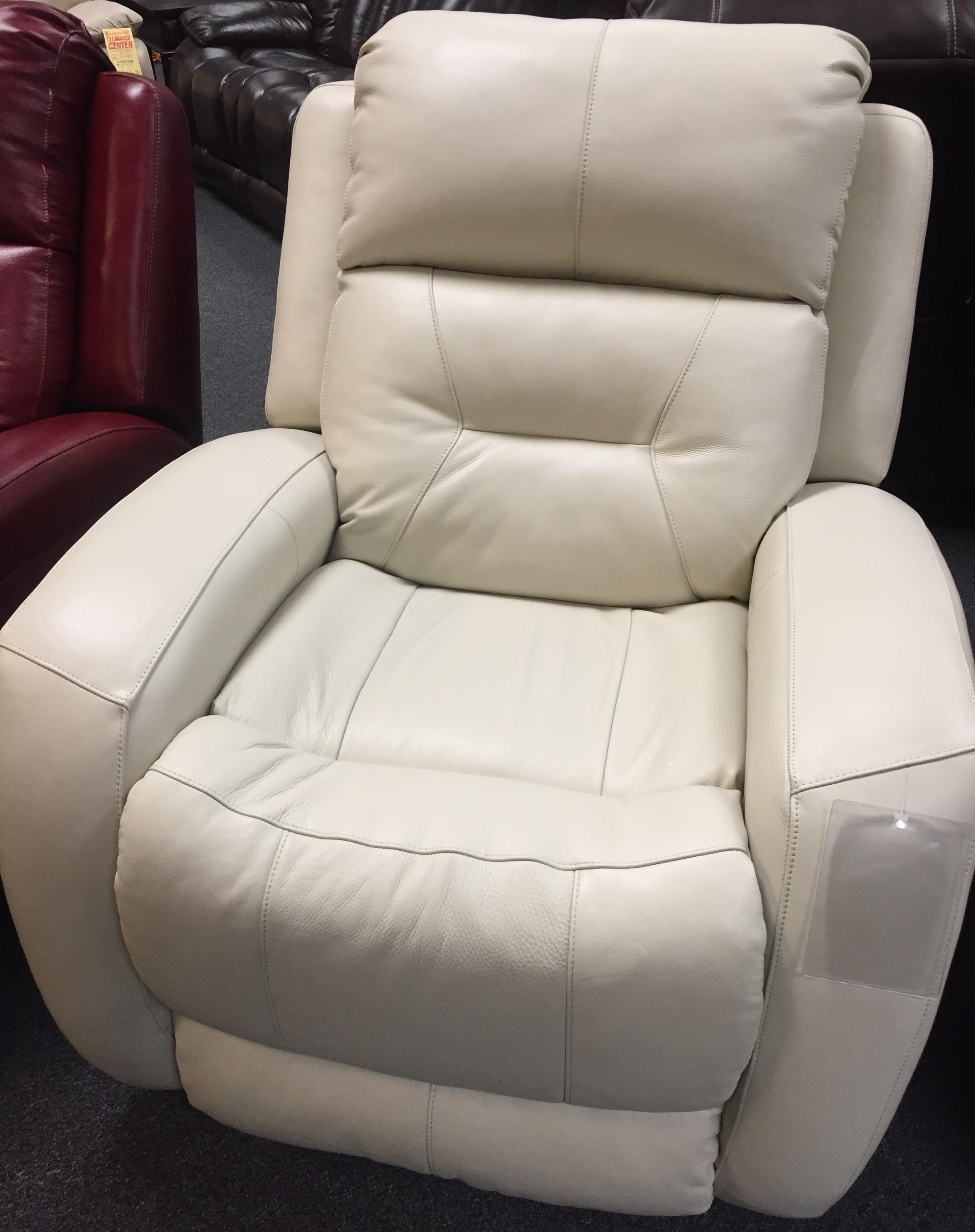 Southern Motion 1316 Cream Leather Recliner - Item Number: 1316Cream